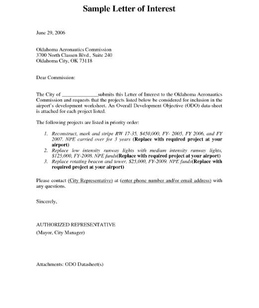 Carta de muestra