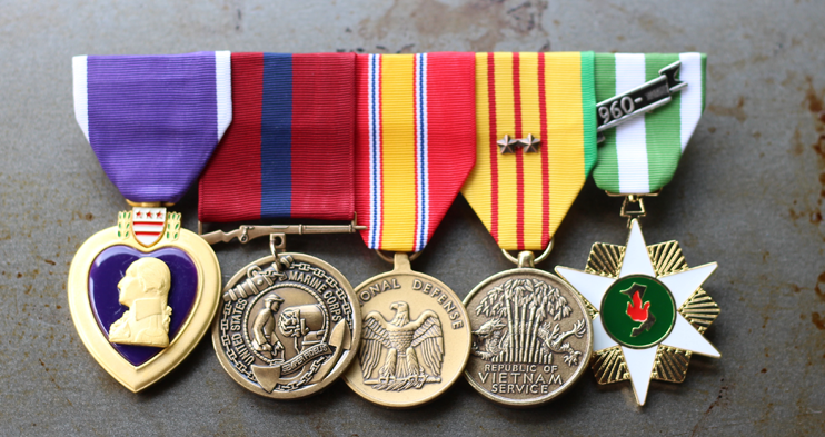 Medallas del Servicio de Defensa Nacional