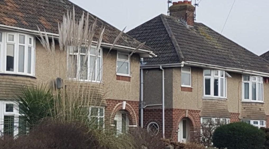 Casas en la década de 1930 en Inglaterra