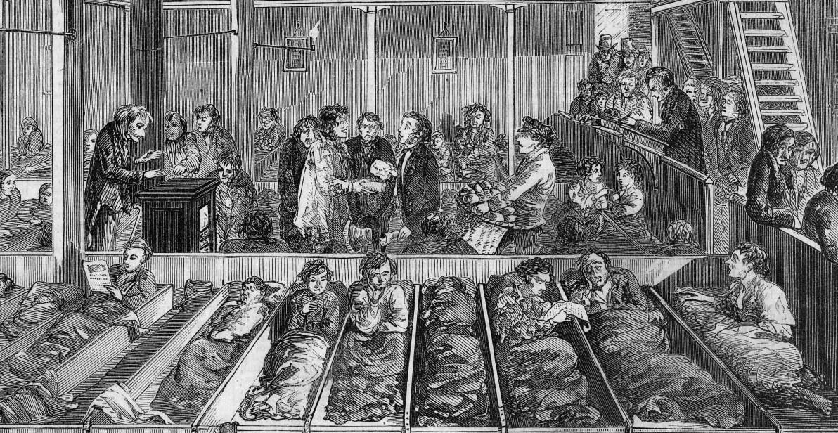 Casas para niños pobres del siglo XIX