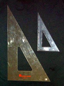 Triángulo de redacción